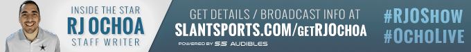 Follow the new Total NFL Podcast, The RJ Ochoa Show, presented by Slant Sports Audible