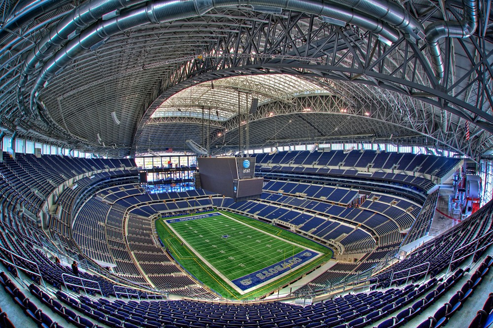 Cowboys Blog - Are new stadiums an advantage in the NFL?