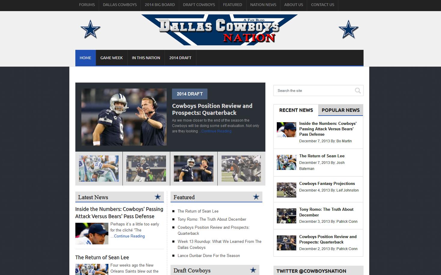 Inside The Star - DallasCowboysNation.com 4.0! 3