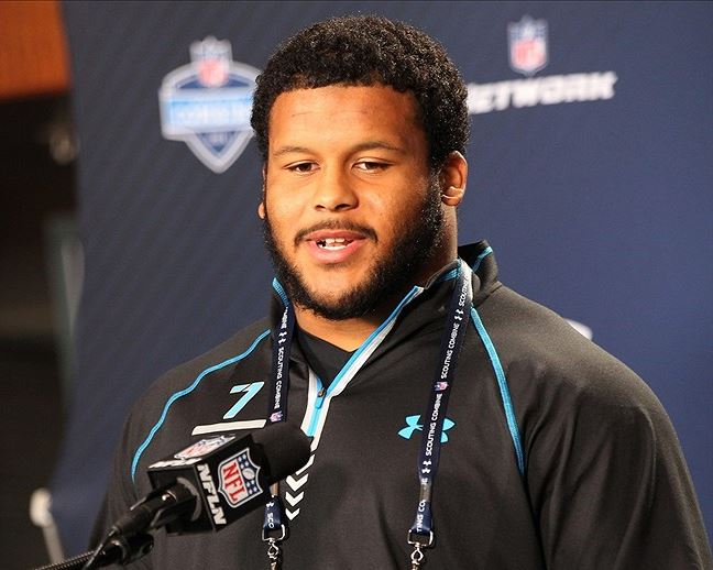 Draft Draft Blog - NFL Combine: Aaron Donald Stands Out