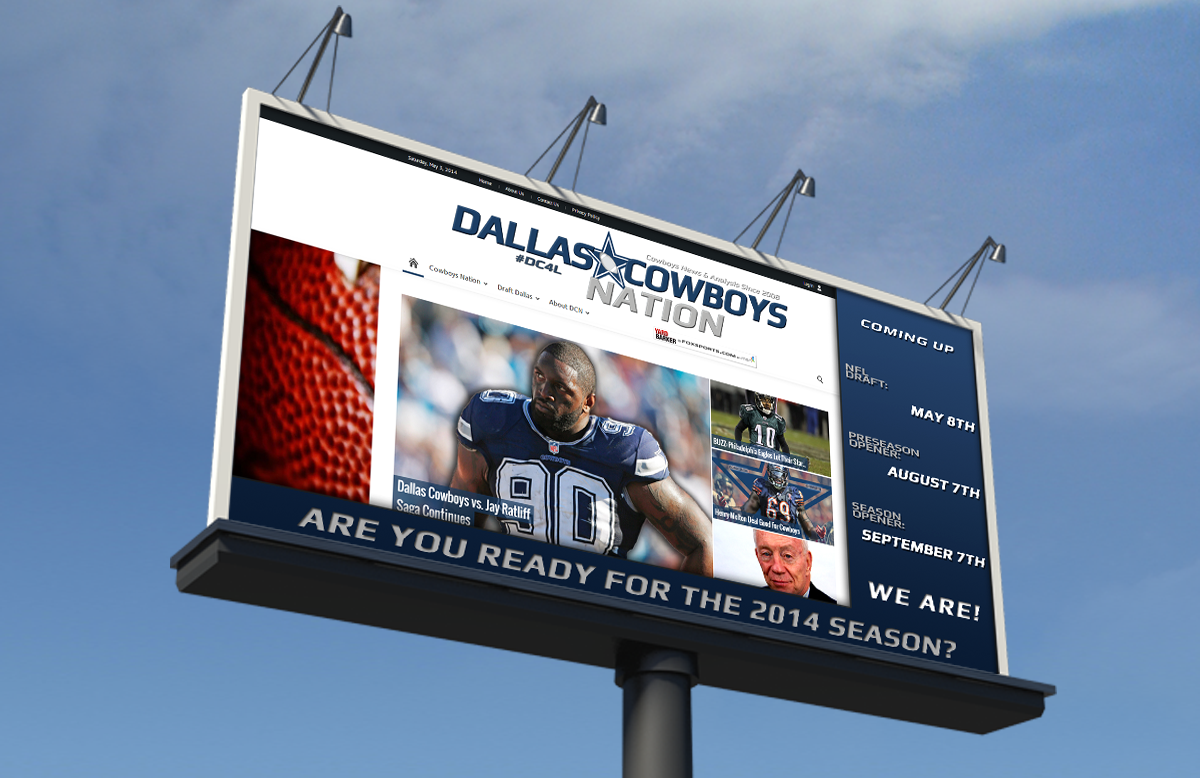 Inside The Star Side Lines - Cowboys Football 2014, DCN Is Ready