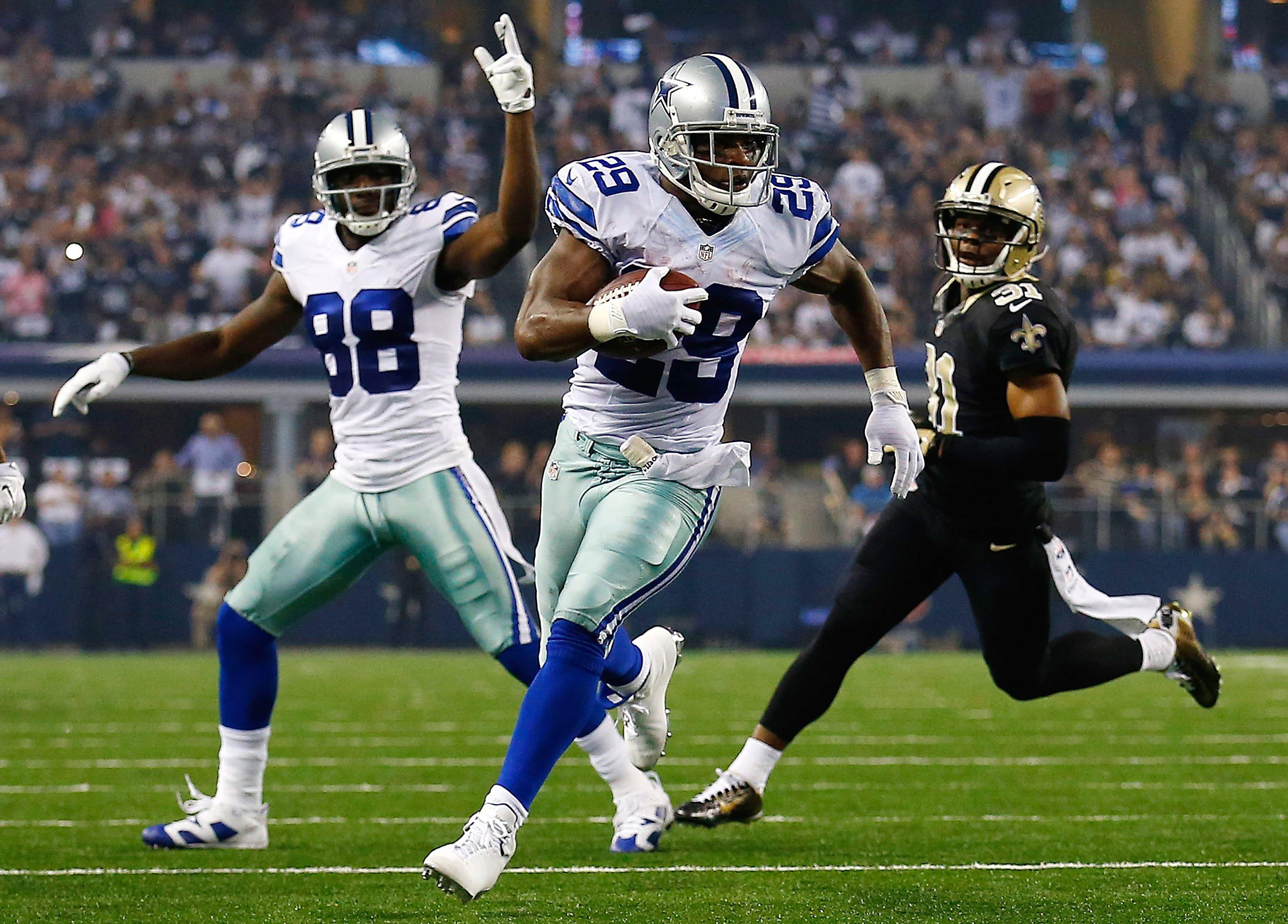 Cowboys Blog - Cowboys take the Saints by storm in 38-17 upset