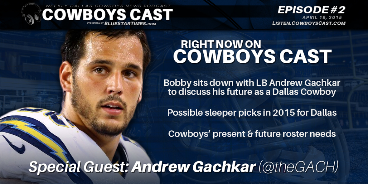 Inside The Star - Andrew Gachkar Interview Transcript From Cowboys Cast 4/19