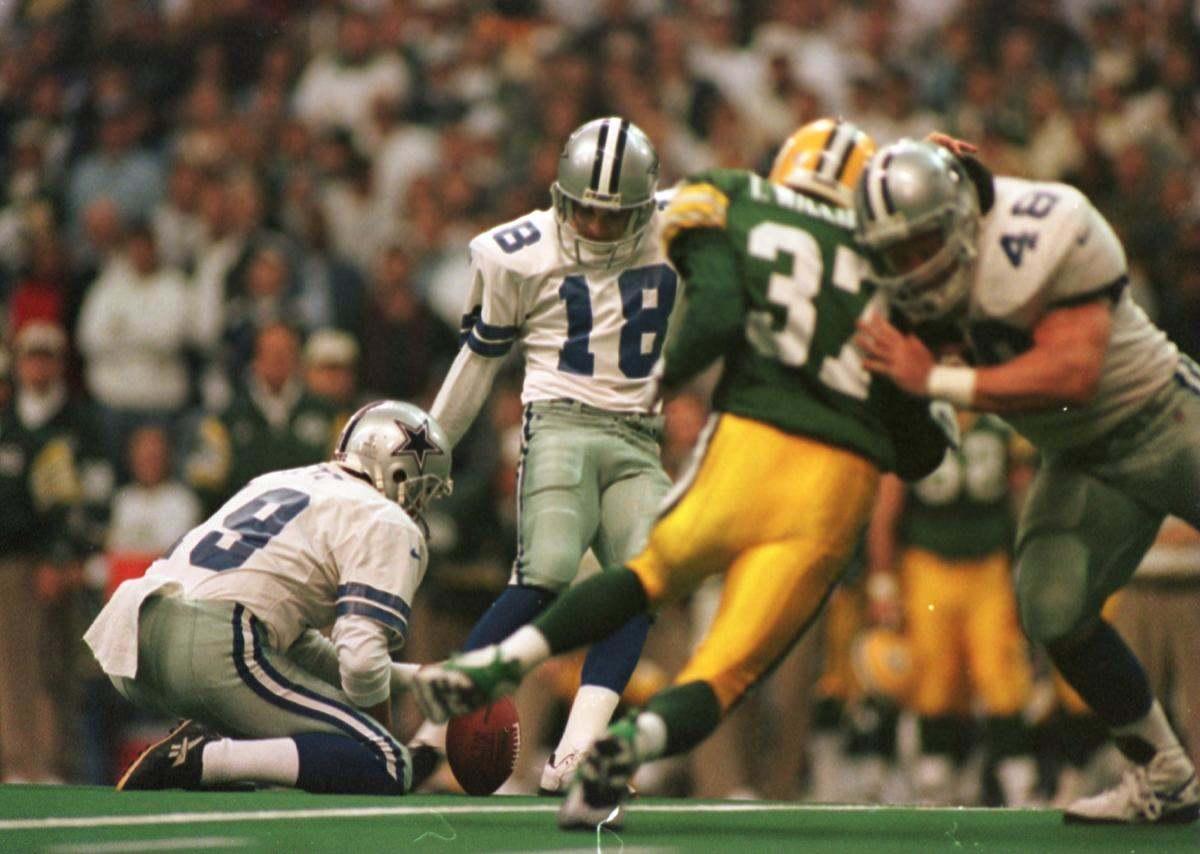 Cowboys Blog - Cowboys CTK: Chris Boniol Kicks #18 Through The Crossbars
