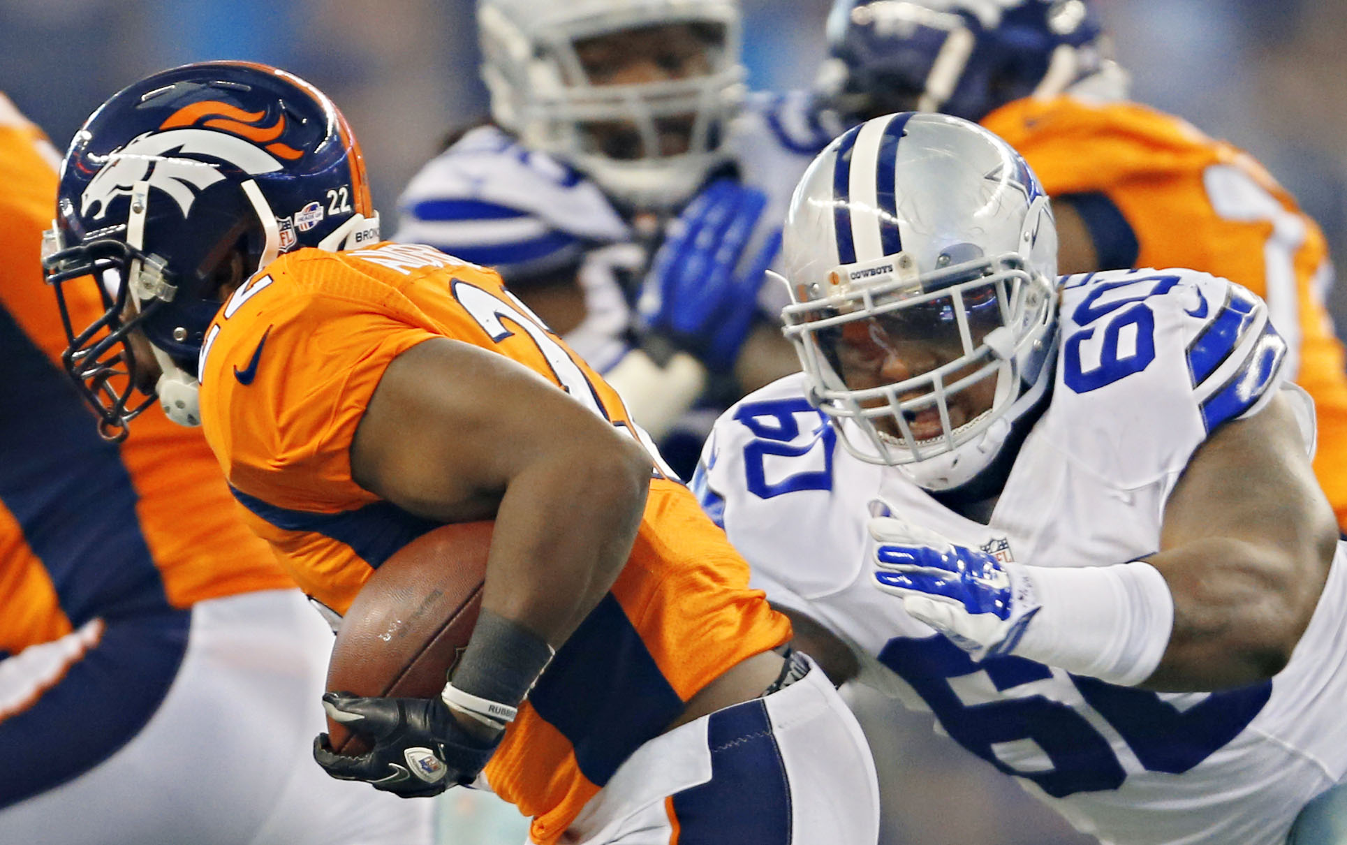 Cowboys Blog - Has Davon Coleman Found A Mentor In Greg Hardy?