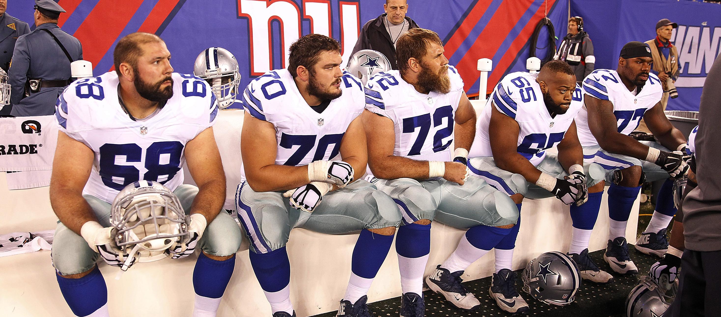Cowboys Blog - Cowboys Position Battle Evaluations: Offensive Line