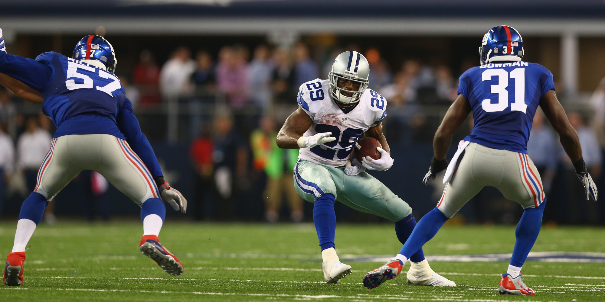 Cowboys Blog - Reliving The Giants Second Visit to AT&T Stadium
