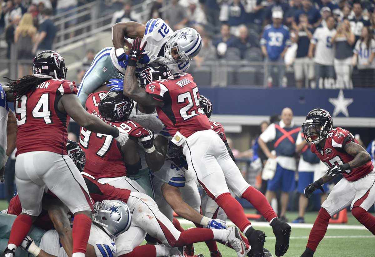 Cowboys Blog - Joseph Randle And Lance Dunbar Lead Cowboys/Falcons Highlight Reel