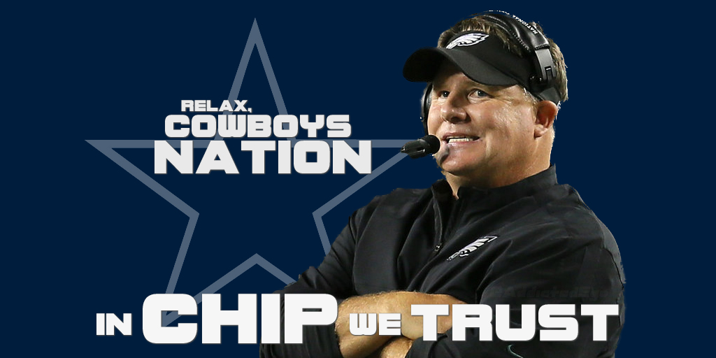 Cowboys Blog - Cowboys Fans Have Faith In Chip Kelly