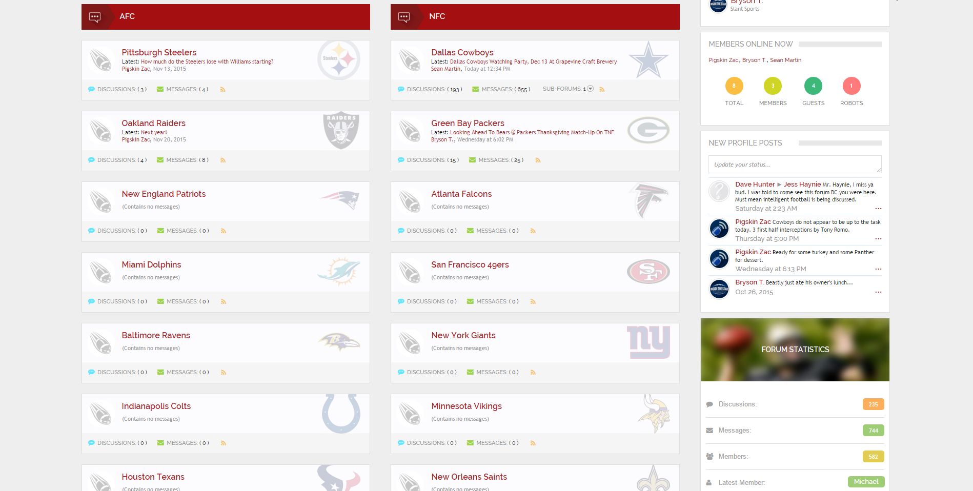 News & Notes - Introducing Pigskin Hub NFL Forums For Cowboys Discussion