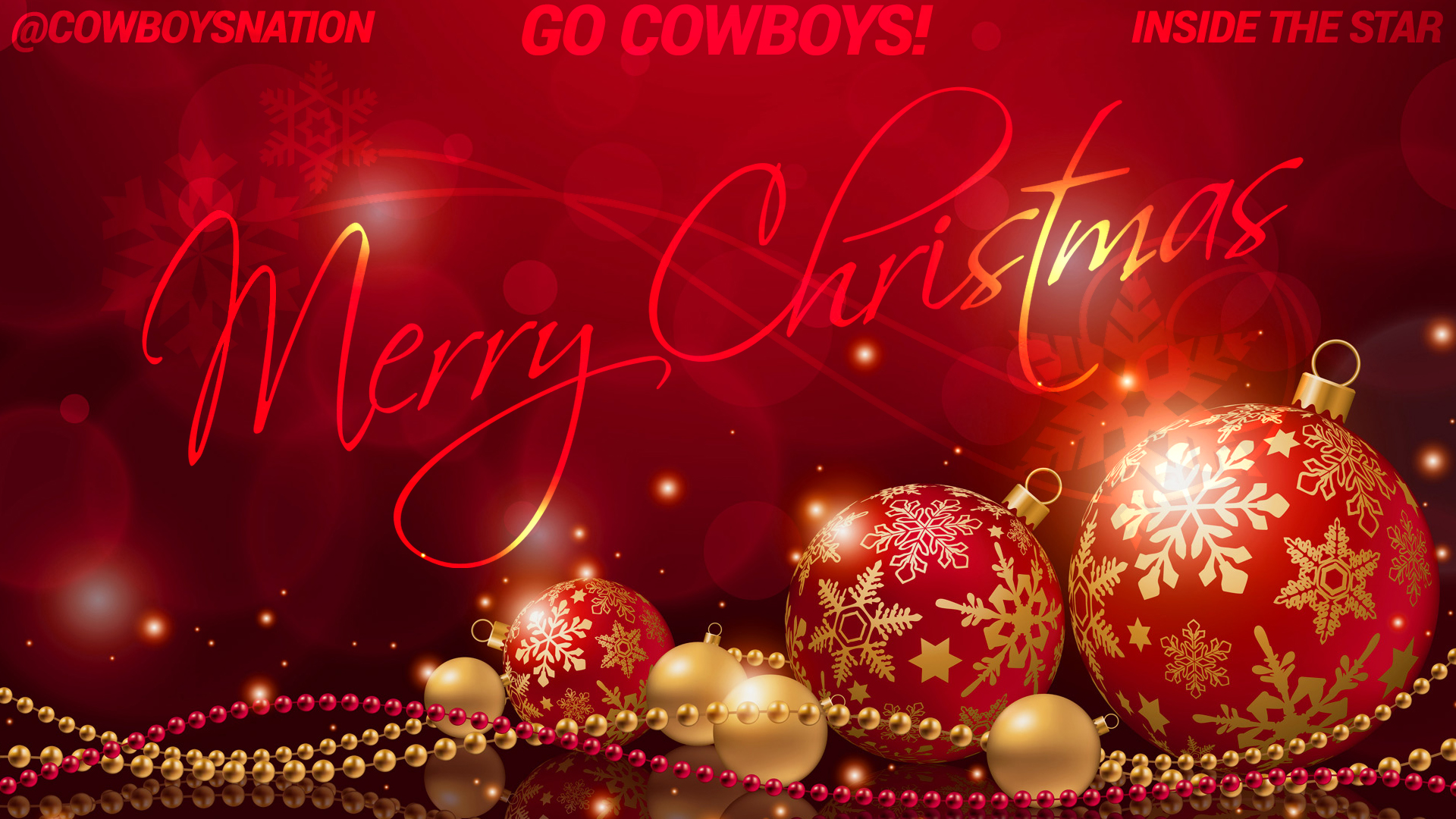 Cowboys Blog - Merry Christmas, Cowboys Fans