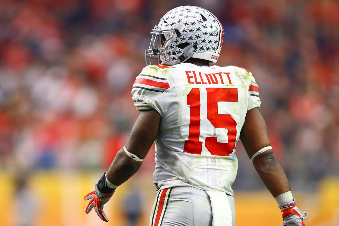 Cowboys Draft - The Dallas Cowboys Select Ezekiel Elliott at #4