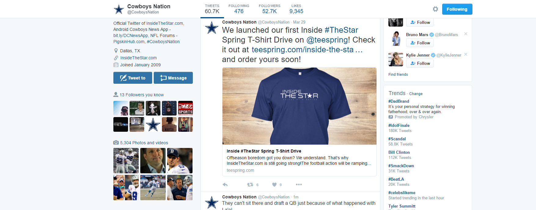 Cowboys Headlines - Tweet Break: Best of #Cowboys Twitter for Apr. 8th