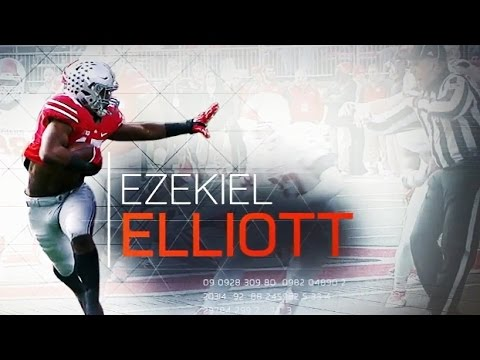 Cowboys Draft - [VIDEO] Ezekiel Elliott Dominates in Zone Blocking Scheme 5