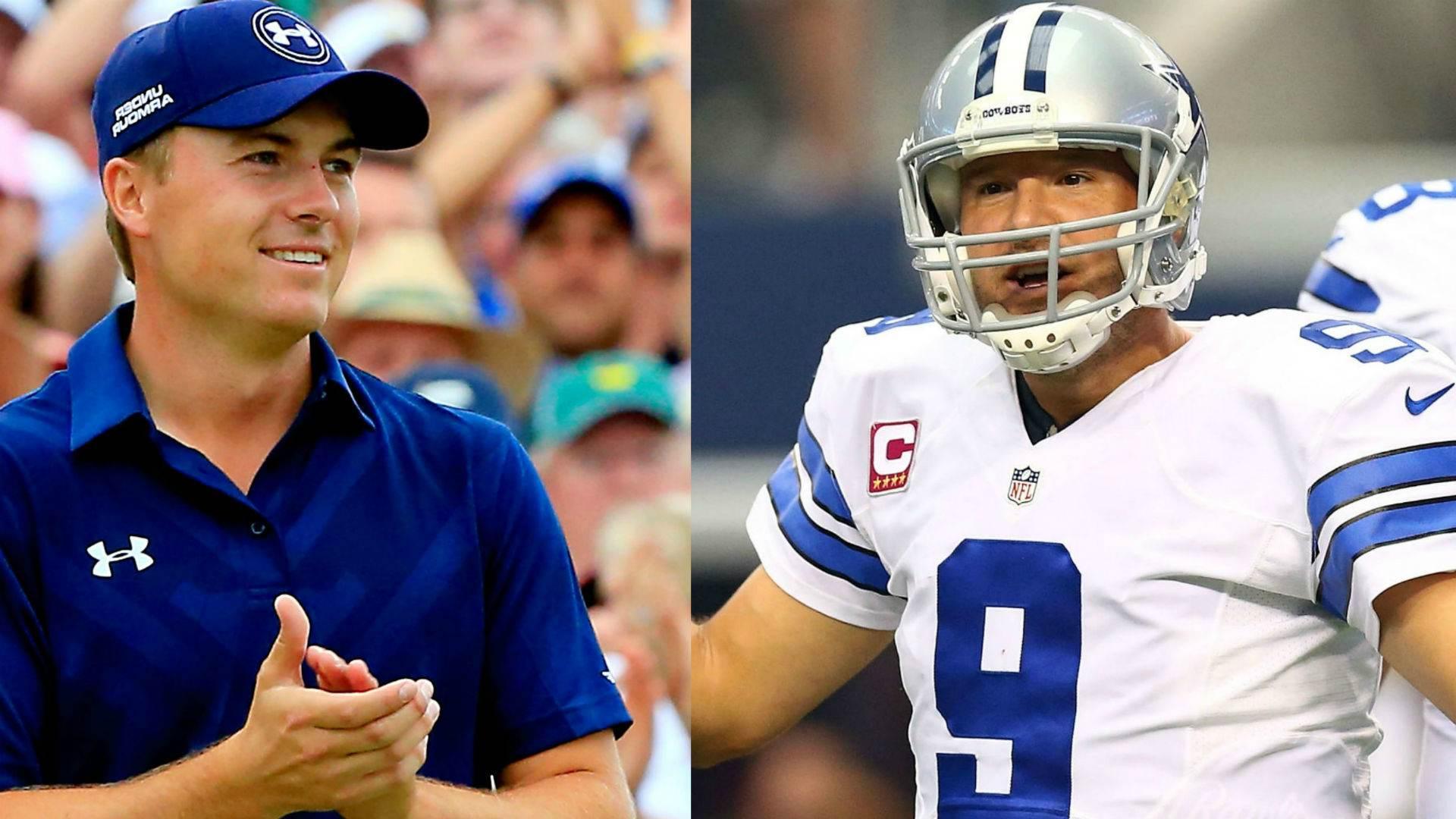Cowboys Headlines - [VIDEO] Tony Romo In New Jordan Spieth Commercial 2