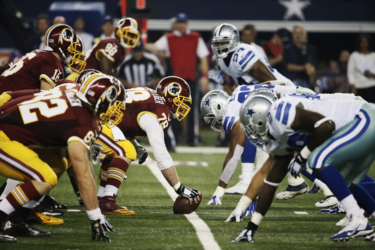 - Week 2: Dallas Cowboys At Washington Redskins