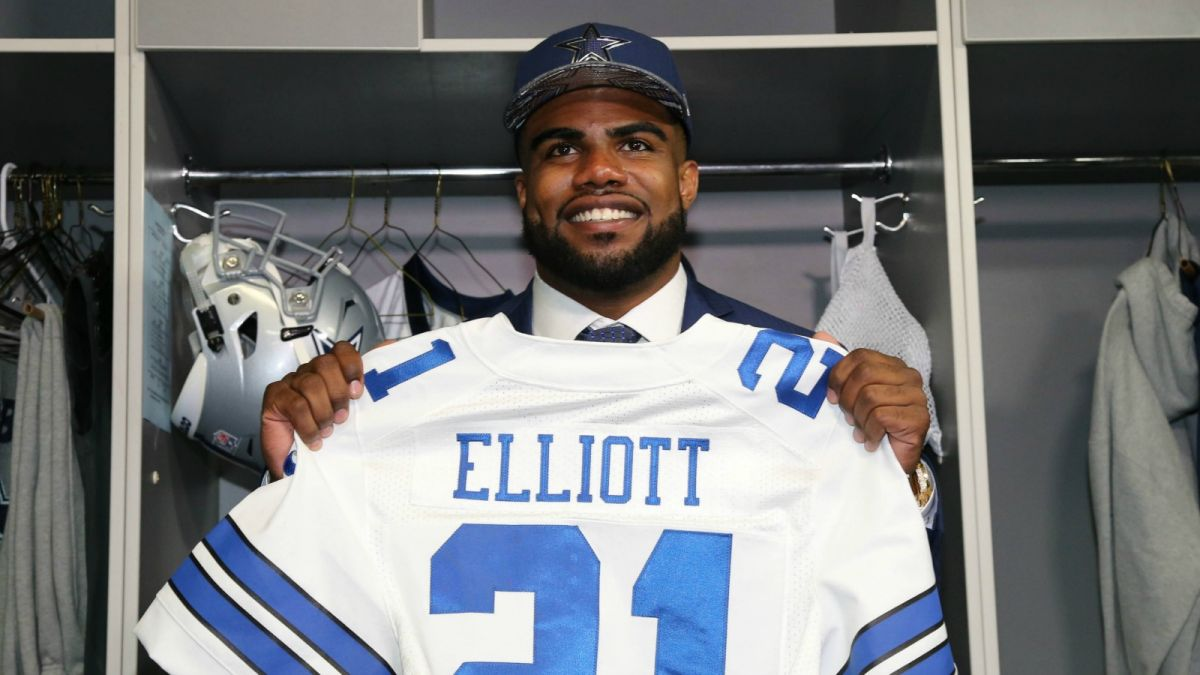 Cowboys Headlines - Ezekiel Elliott Leads Rookie Jersey Sales