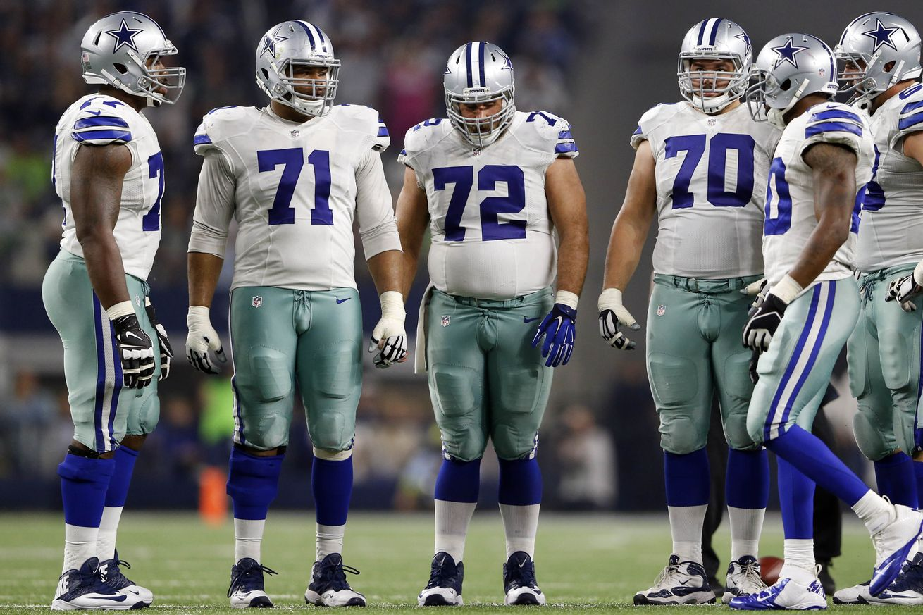 Cowboys Headlines - Space Cowboys: The Dallas Offensive Line 1