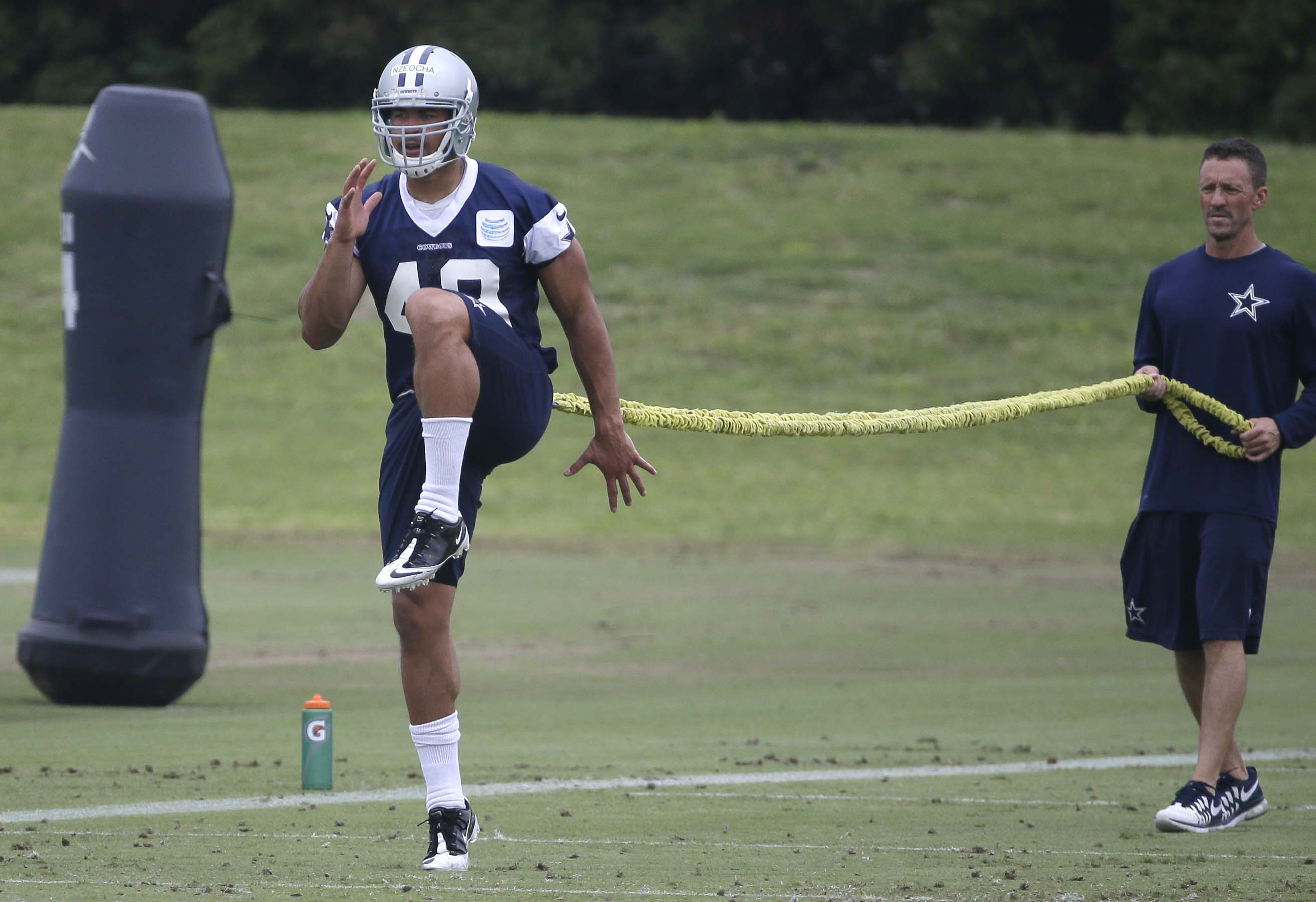 Cowboys Headlines - Cowboys Sophomores: LB Mark Nzeocha