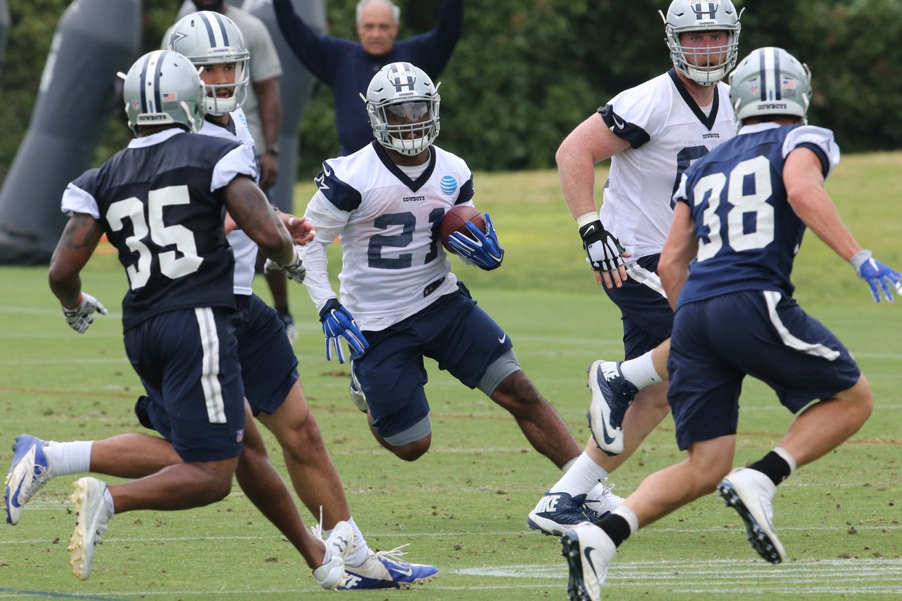 Cowboys Headlines - FOX Ranks NFL Rushing Attacks, Places Dallas Out of Top Five 1