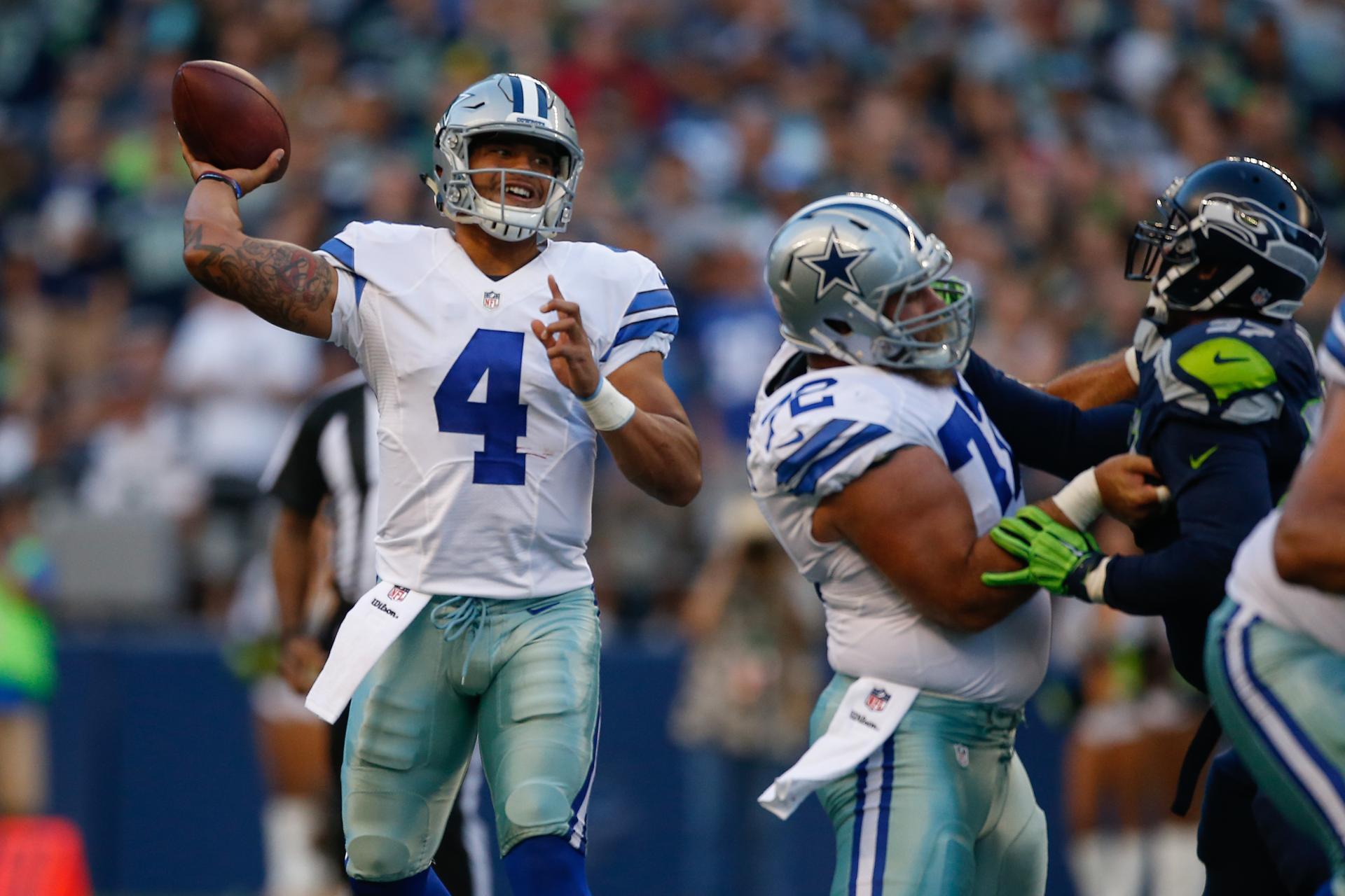 Cowboys Headlines - Who Benefits Most With Dak Prescott At Quarterback?