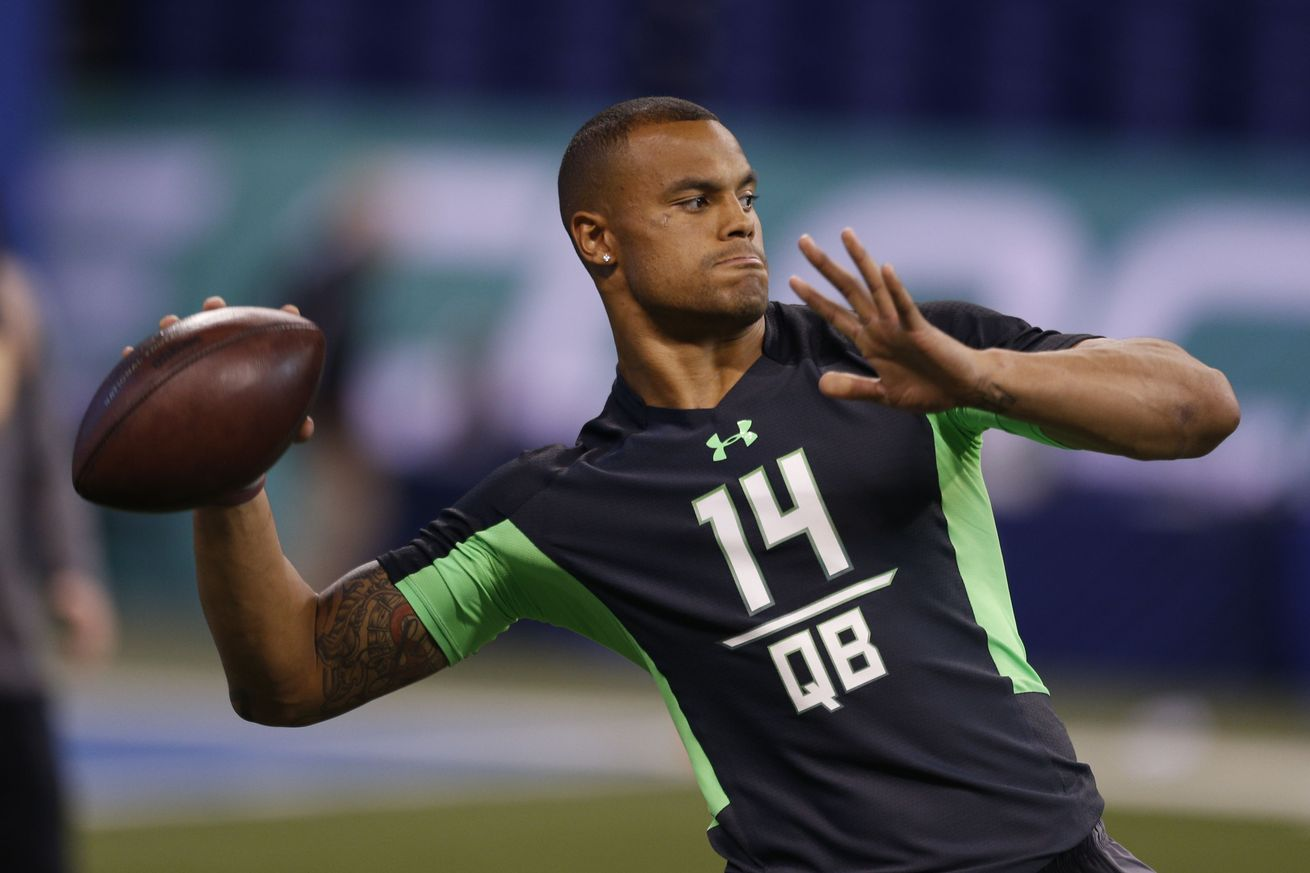 Dak prescott profile dallas cowboys inside the star for The prescott