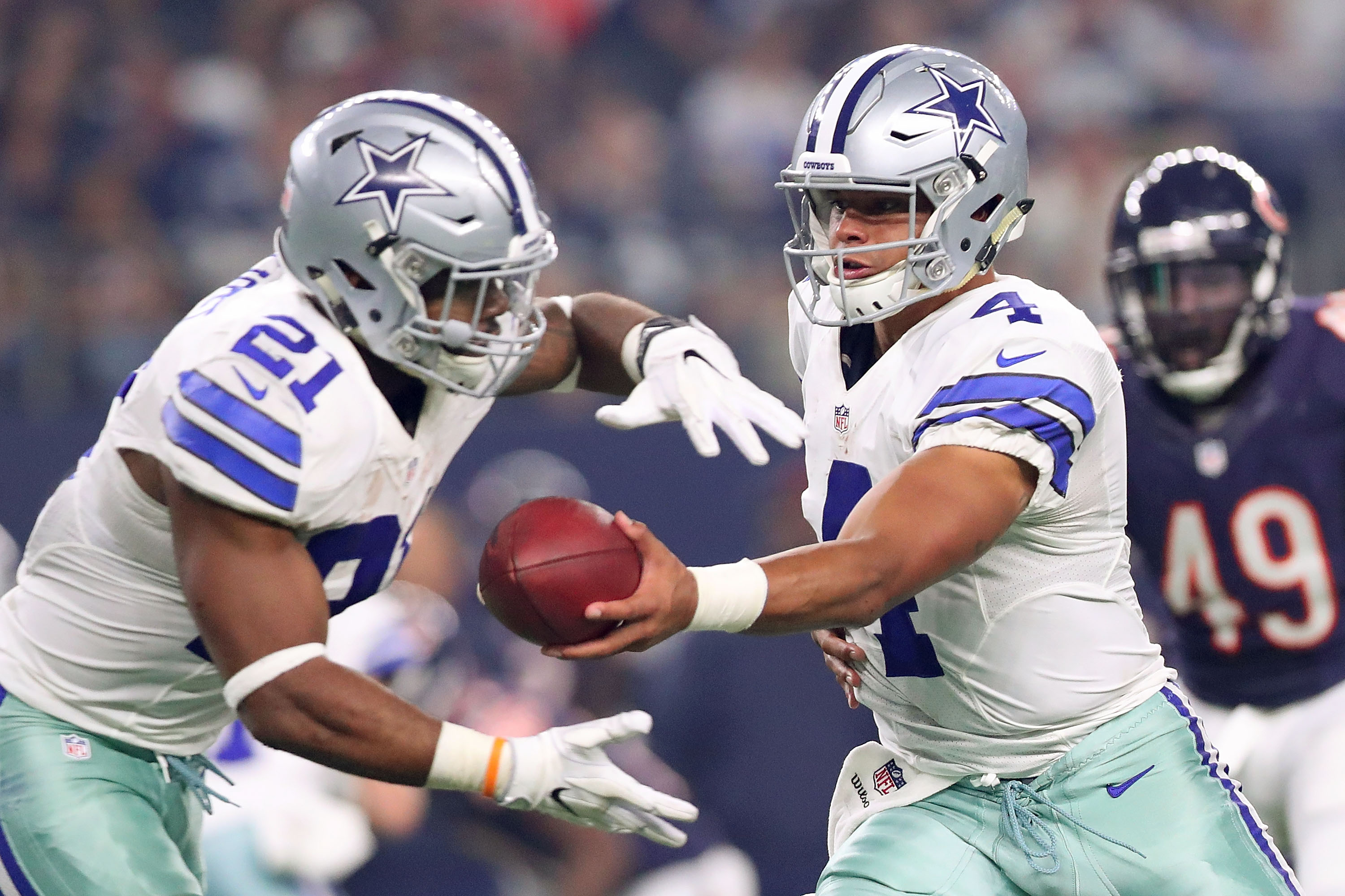 Cowboys Headlines - Record Breaking Rookies Dak Prescott, 1