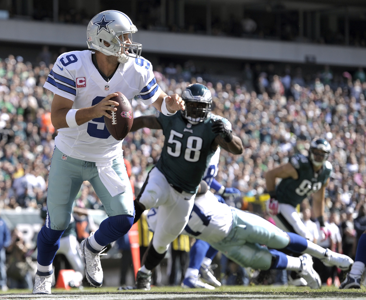 Cowboys Headlines - Dallas Cowboys Preparing for Tony Romo to Play Week 8