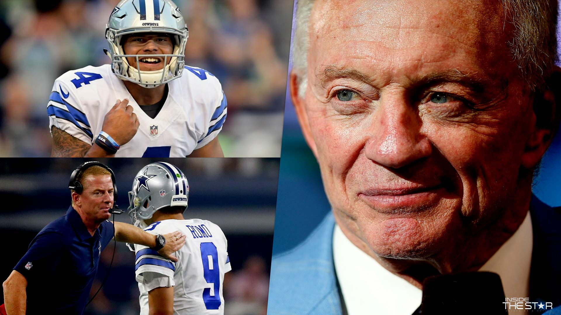 "Cowboys Headlines - Jerry Jones Waiting for ""Next Card to be Played"" in Cowboys QB Decision"