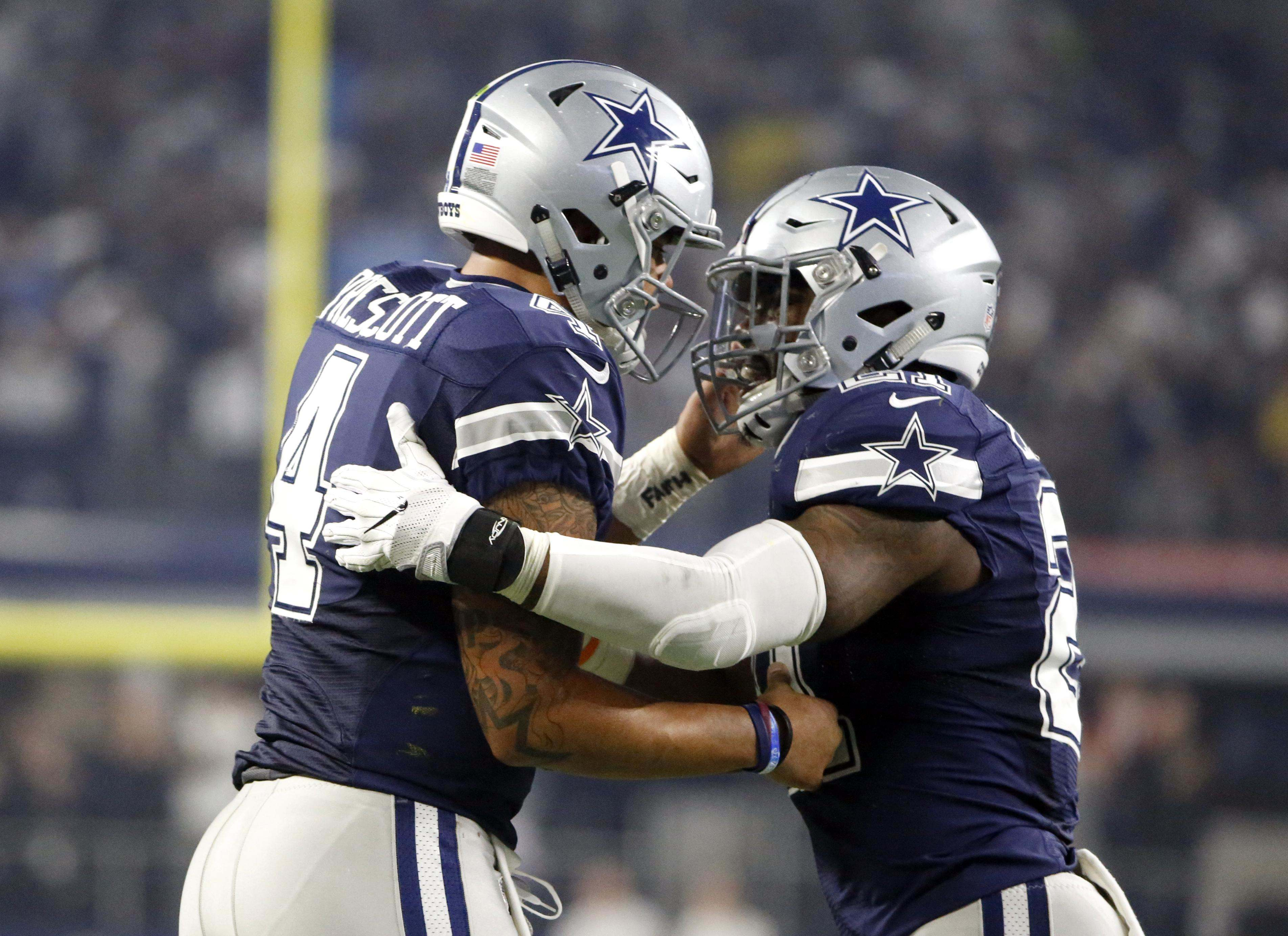 low priced 0d462 1092d 5 Dallas Cowboys Named to 2017 Pro Bowl ✭
