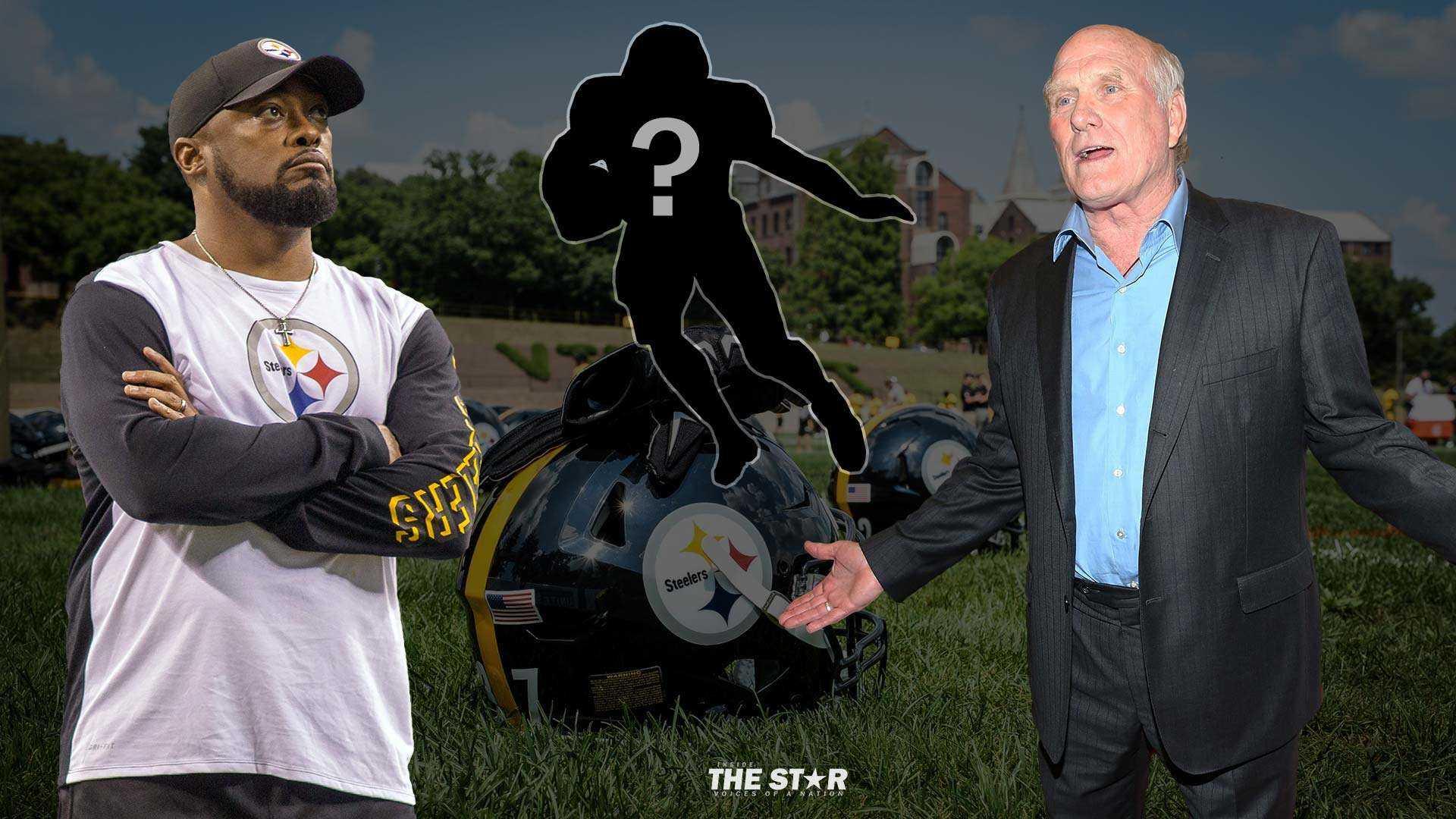 Mike Tomlin, Terry Bradshaw, Steelers