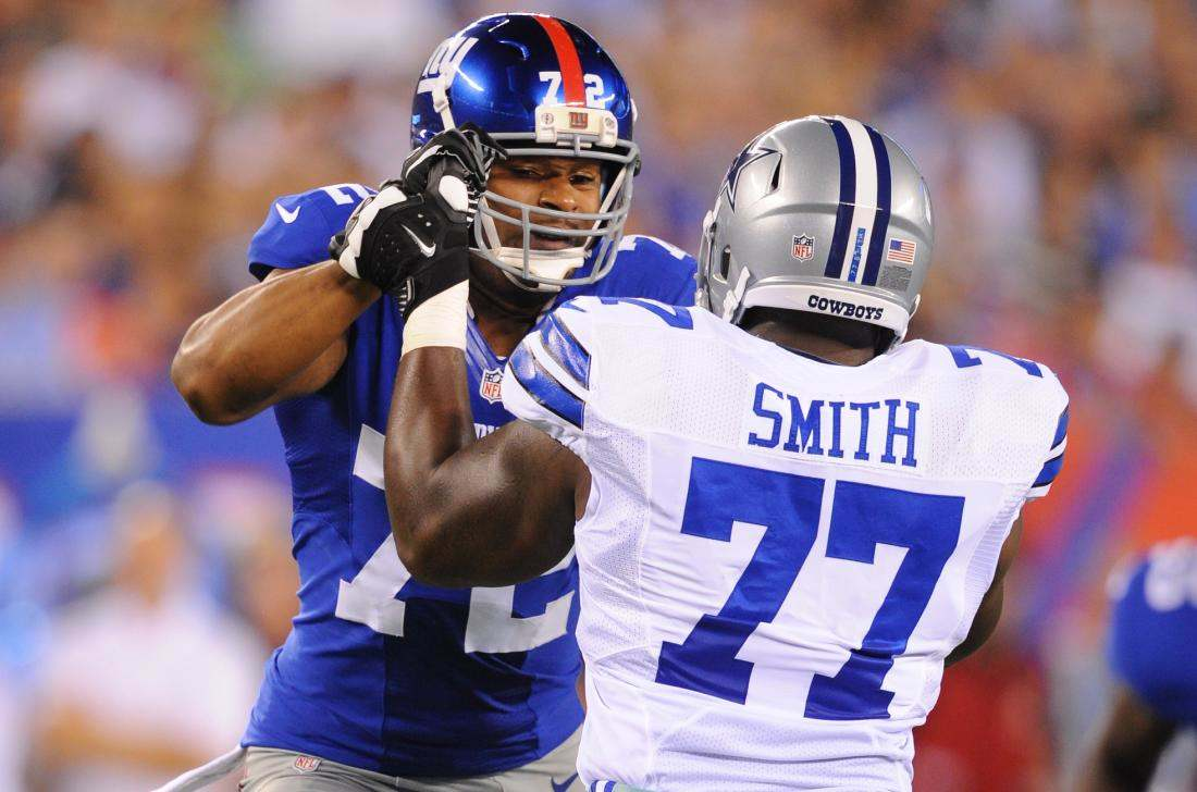 Tyron Smith, Giants