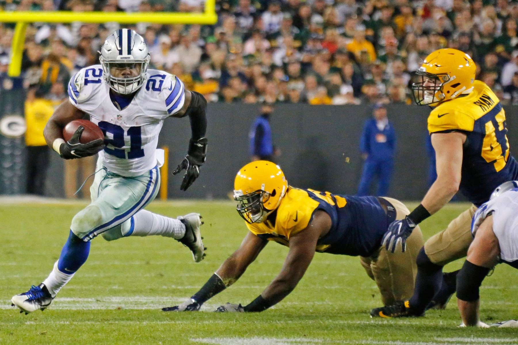 Ezekiel Elliott, Packers