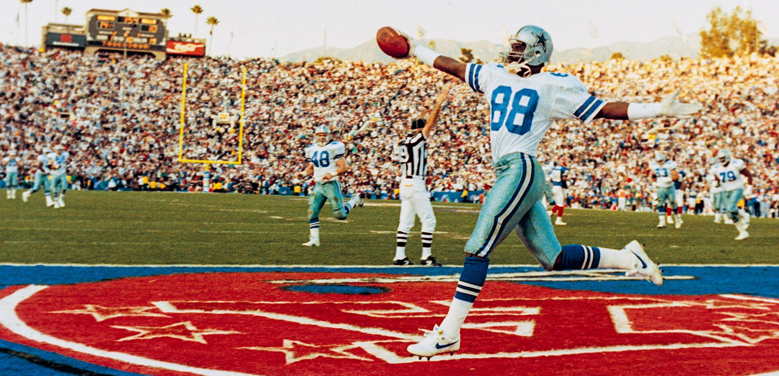 Michael Irvin, Super Bowl XXVII