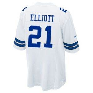 Ezekiel Elliott Nike Game Jersey - White 1