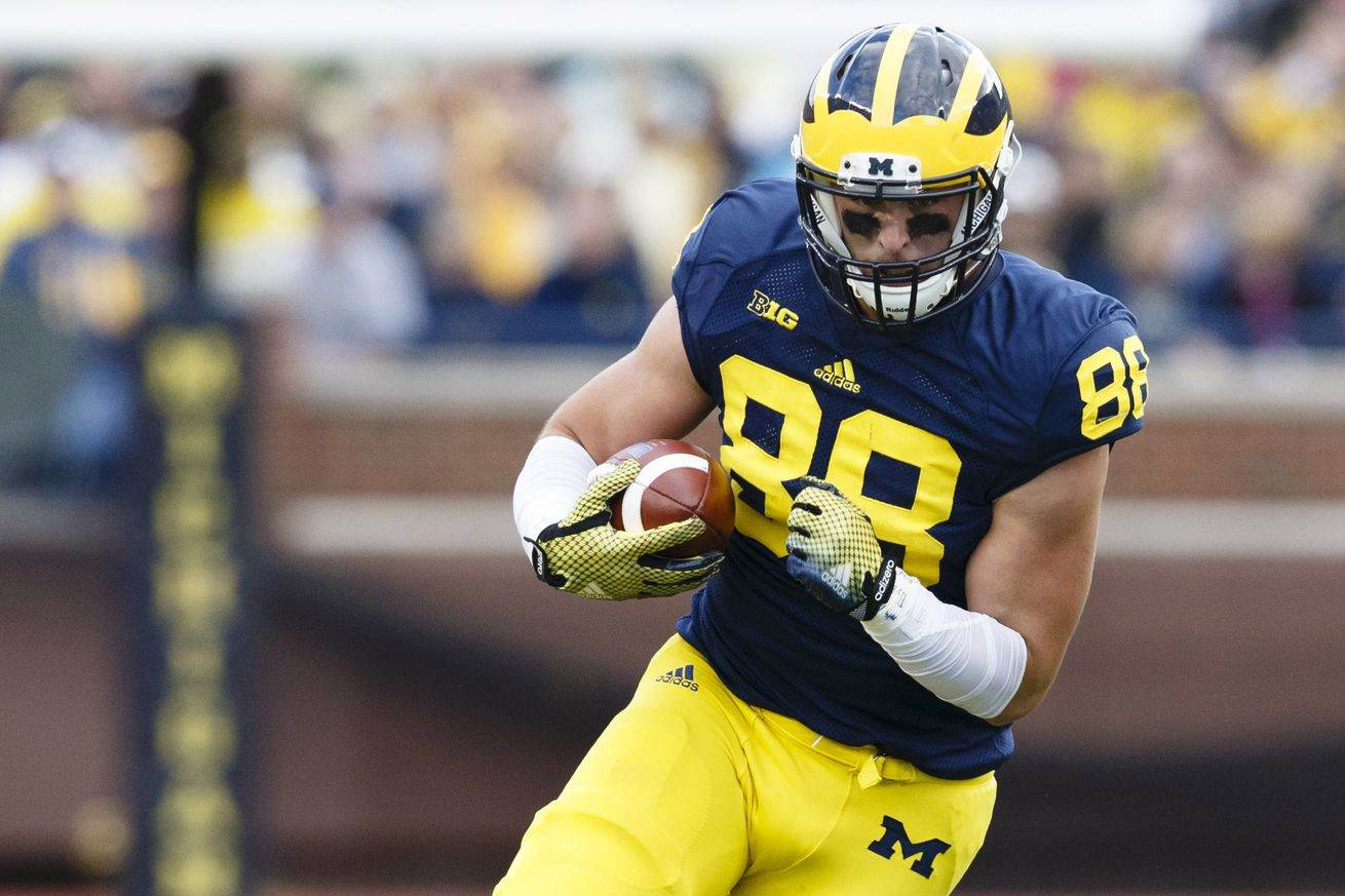 Cowboys Draft Target: Michigan TE Jake Butt May Fall Into Dallas' Lap