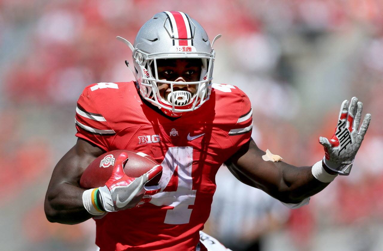 2017 Cowboys Draft Target: Ohio State's RB/WR Curtis Samuel