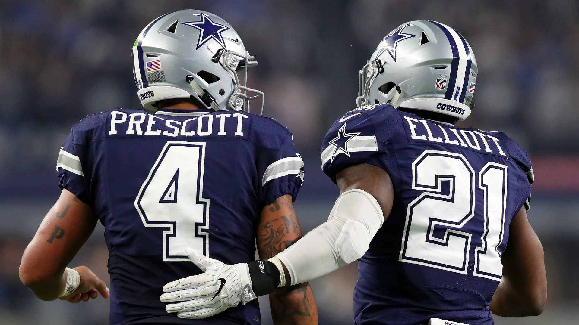 MVP Favorites  Dak Prescott and Ezekiel Elliott s Odds Among NFL s ... cd31887c8