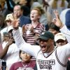 Dak Prescott Celebrates Mississippi State's Buzzer-Beating Win Over UCONN