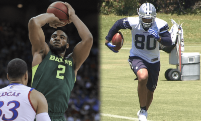 WATCH: Rico Gathers Finishes Off Lob From Maverick-For-A-Day Tony Romo