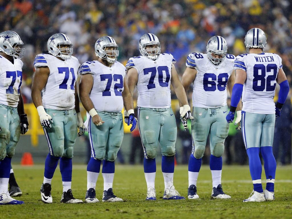 Will Cowboys' Offensive Line Miss RT Doug Free In 2017?