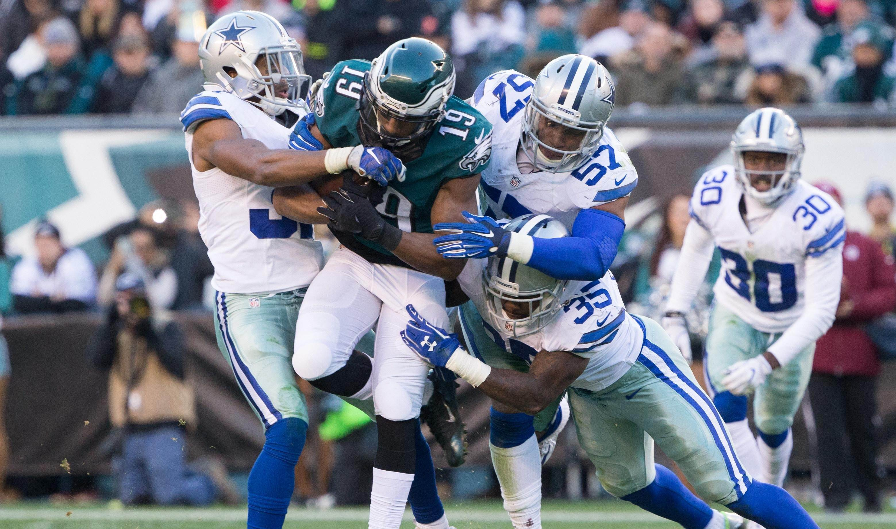 Cowboys' Tyron Smith Out for NFC East Battle Against Eagles
