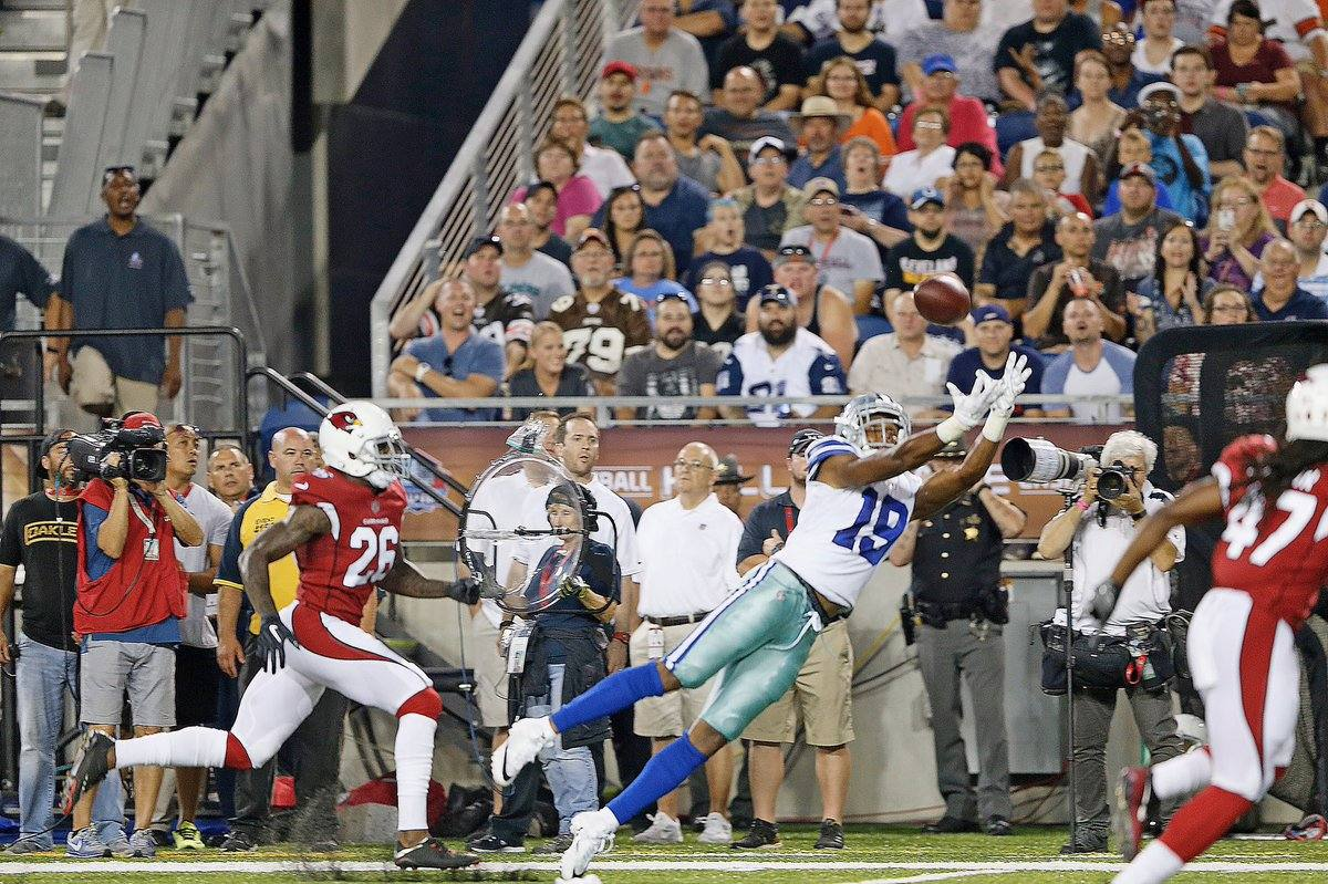 WATCH: WR Brice Butler Makes Catch Of The Night Vs. Cardinals