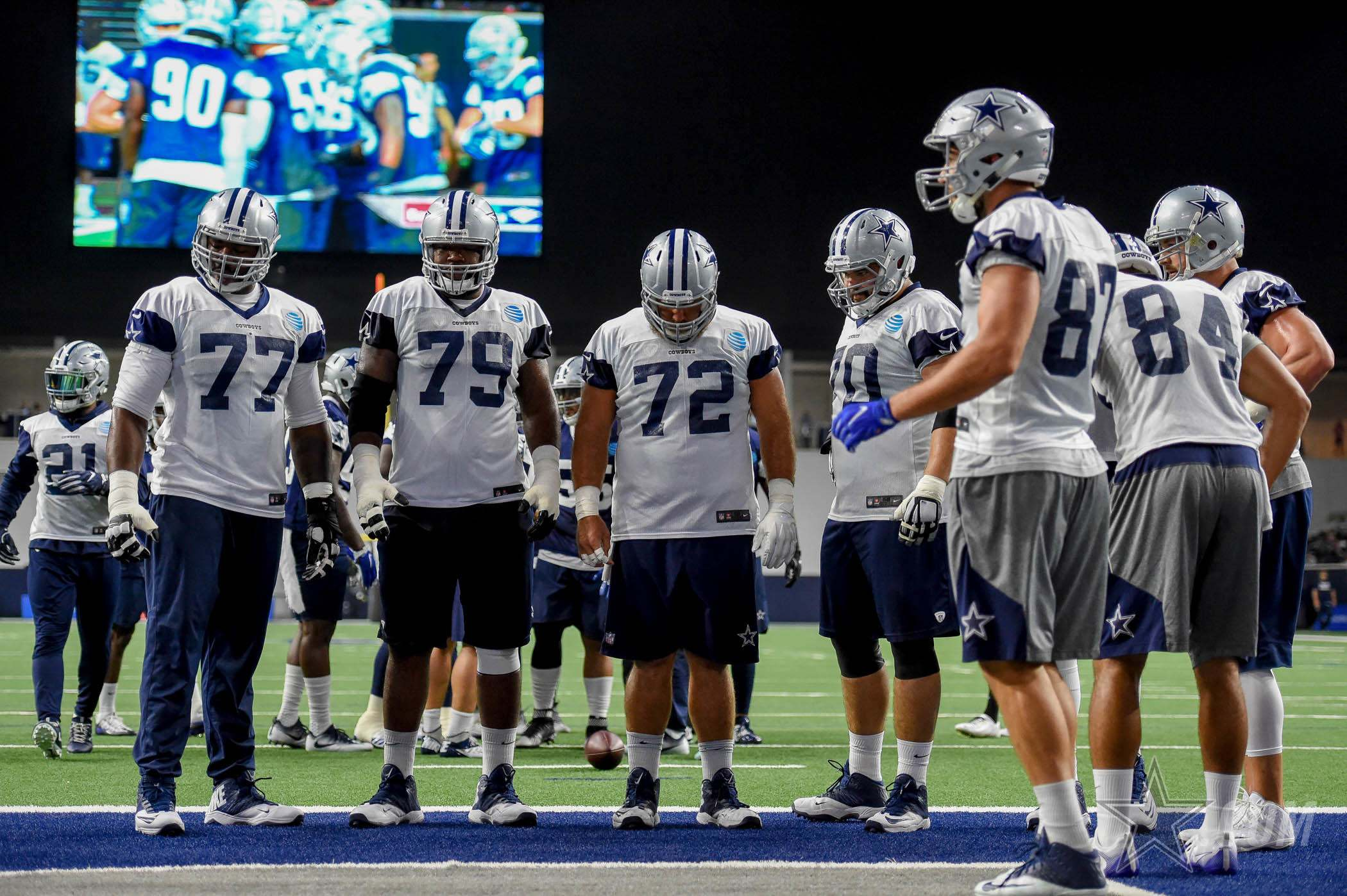 Cowboys Hosting Thursday Telethon, Live Practice For Hurricane Harvey 1
