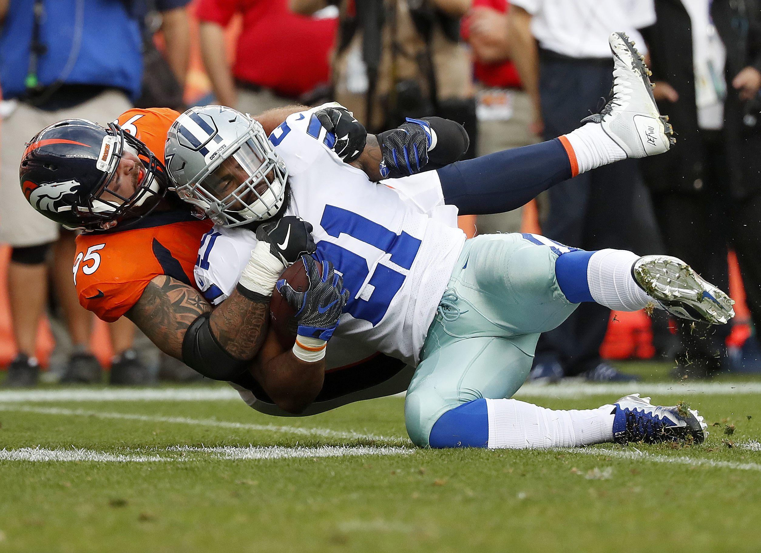 Ezekiel Elliott, Broncos