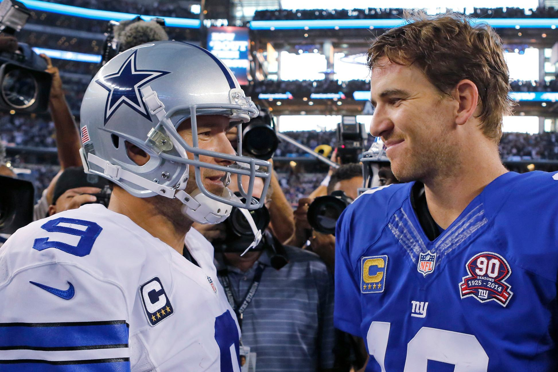 Is This The Last Time The Manning-led Giants Face The Cowboys?