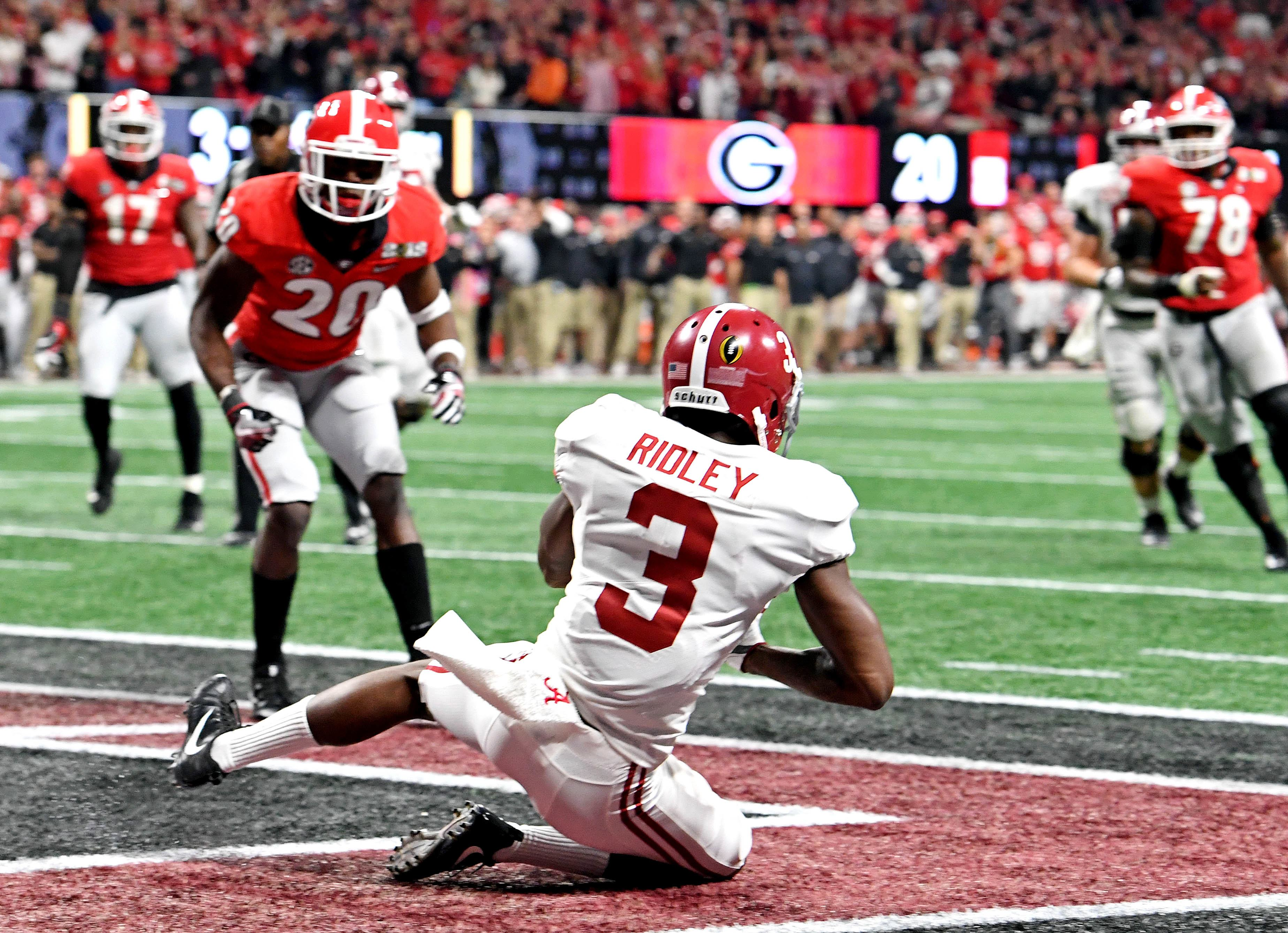 Dallas Cowboys Reportedly Set Pre Draft Visit With Alabama Wr Calvin Ridley