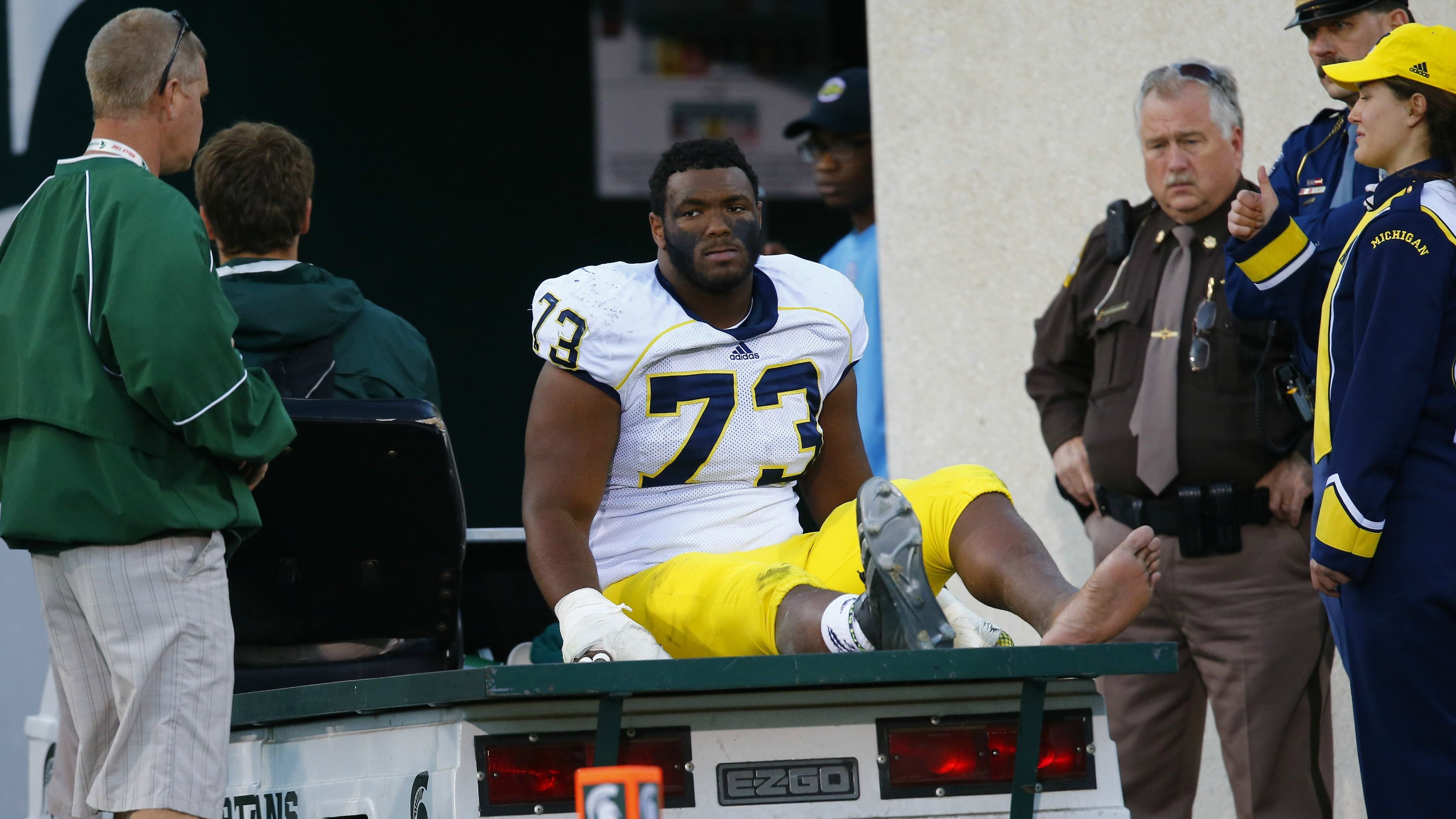 Michigan DT Maurice Hurst Diagnosed with Heart Condition at Combine 1