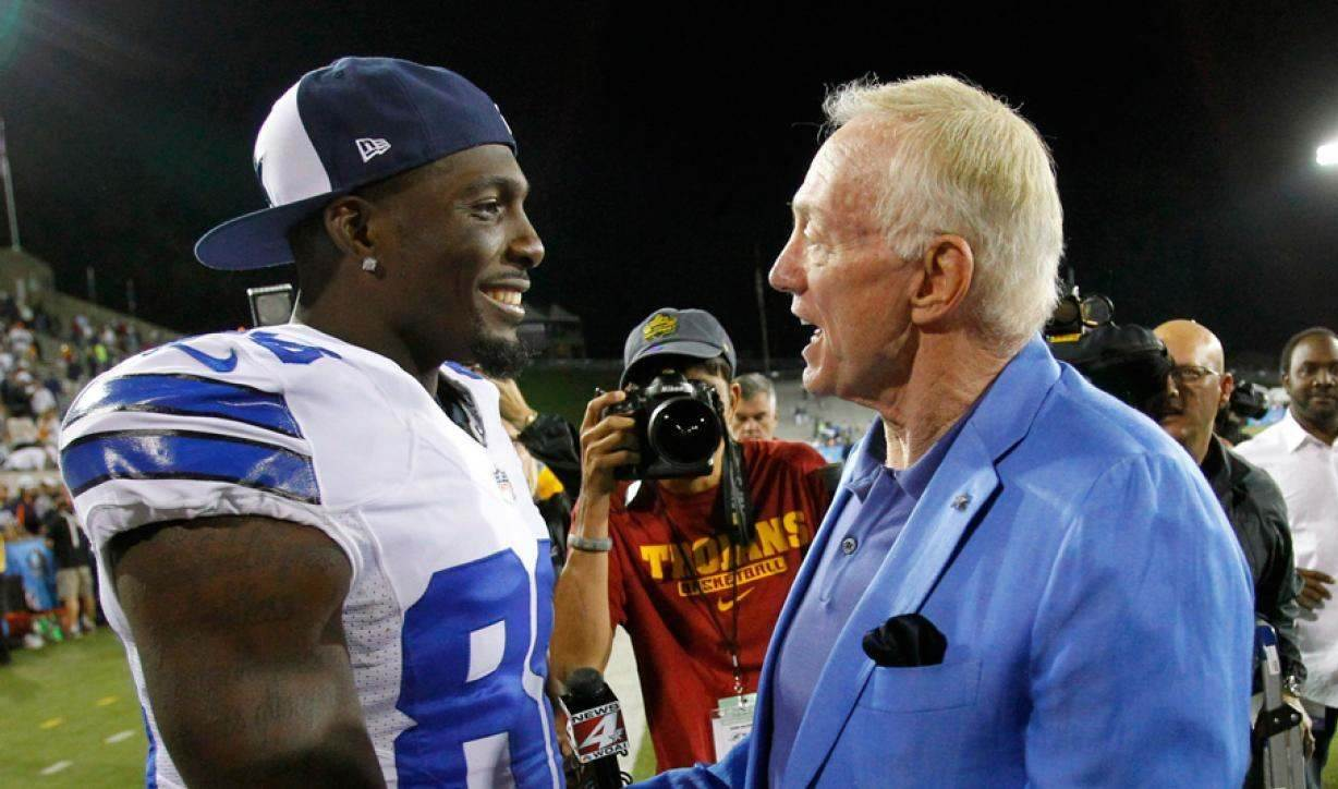 Jerry Jones, Dez Bryant