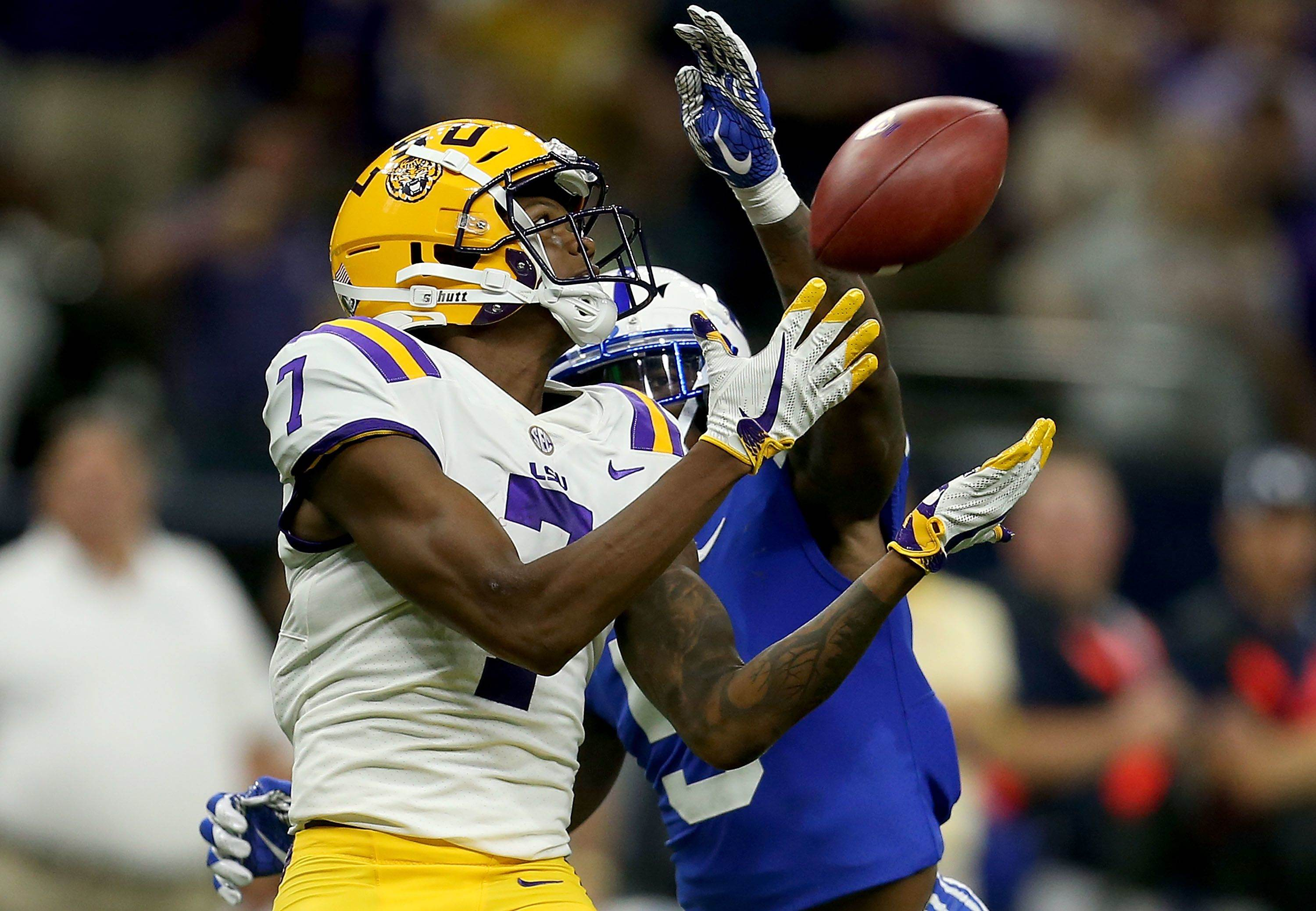 2018 NFL Draft: LSU WR DJ Chark Visits Cowboys